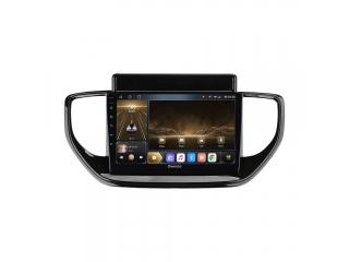 Штатная магнитола Carmedia OL-9714 для Hyundai Solaris 2020+ с DSP процессором и CarPlay на Android 10