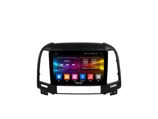 Штатная магнитола Carmedia OL-9717 для Hyundai Santa Fe 2010-2012 (рамка 3 и 4 кнопки) с DSP процессором с CarPlay на Android 10
