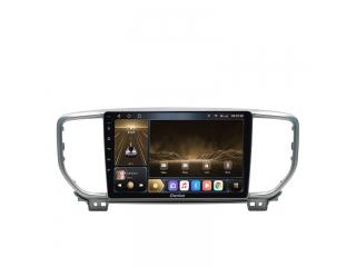 Штатная магнитола Carmedia OL-9780-1 для Kia Sportage 2018+ (рамка серебро) с DSP процессором и CarPlay на Android 10