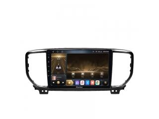 Штатная магнитола Carmedia OL-9780-2 для Kia Sportage 2018+ (рамка черная) с DSP процессором и CarPlay на Android 10
