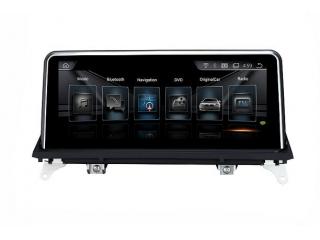 Штатная магнитола Carmedia XN-B1001-P6 для BMW X5 E70 2006-2010 и X6 E71 2008-2010 CСC на Android 9.0