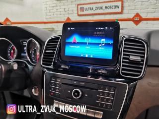 Штатная магнитола Carmedia XN-M8002 для Mercedes Benz GLE, GLS 2016-2018 c 4G Sim на Android 8.1