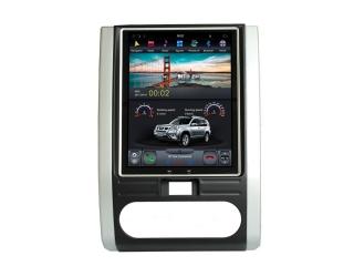 Головное устройство в стиле Тесла Carmedia ZF-1008-DSP для Nissan X-Trail 2007-2014 c DSP процессором на Android