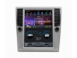 Головное устройство в стиле Тесла Carmedia ZF-1012-DSP для Volkswagen Passat 2005-2015 (B6, B7), Passat CC 2012-2015 c DSP процессором на Android