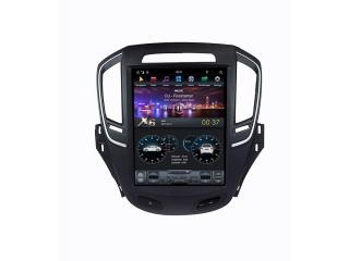 Головное устройство в стиле Тесла Carmedia ZF-1023-DSP для Opel Insignia 2013-2015 c DSP процессором на Android