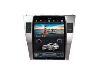 Головное устройство в стиле Тесла Carmedia ZF-1033-DSP для Toyota Camry V40 c DSP процессором на Android