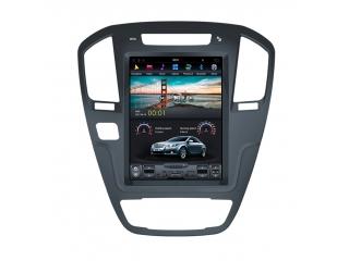 Головное устройство в стиле Тесла Carmedia ZF-1069BL-DSP для Opel Insignia 2009–2013 c DSP процессором на Android