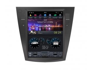 Головное устройство в стиле Тесла Carmedia ZF-1072-DSP для Subaru Forester, XV, Impreza c DSP процессором на Android