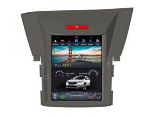 Головное устройство в стиле Тесла Carmedia ZF-1091-DSP для Honda CR-V 2013-2016 (для авто 2,4л с усилителем и камерой) c DSP процессором на Android