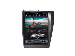 Головное устройство в стиле Тесла Carmedia ZF-1118H-DSP для Lexus ES 240 2006-2012 (для топовых комплектаций) c DSP процессором на Android