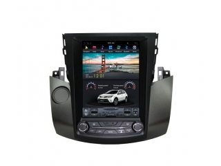 Головное устройство в стиле Тесла Carmedia ZF-1121-DSP для Toyota RAV4 2006-2012 c DSP процессором на Android