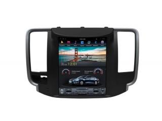 Головное устройство в стиле Тесла Carmedia ZF-1126-DSP для Nissan Teana 2008-2013 c DSP процессором на Android