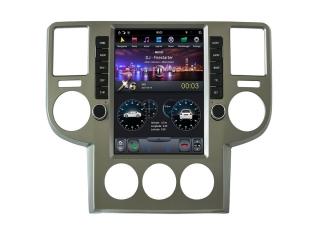 Головное устройство в стиле Тесла Carmedia ZF-1170-DSP для Nissan X-Trail 2003-2007 c DSP процессором на Android