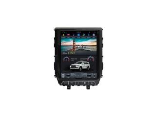 Головное устройство в стиле Тесла Carmedia ZF-1205-DSP для Toyota LC 200 2015+ c DSP процессором на Android