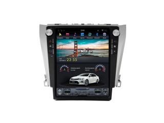 Головное устройство в стиле Тесла Carmedia ZF-1206-DSP для Toyota Camry V50, Camry V55 c DSP процессором на Android