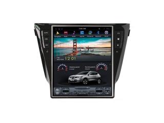 Головное устройство в стиле Тесла Carmedia ZF-1209A-DSP для Nissan Qashqai 2013+, X-Trail 2015+ (Не поддерживает круговой обзор) c DSP процессором на Android