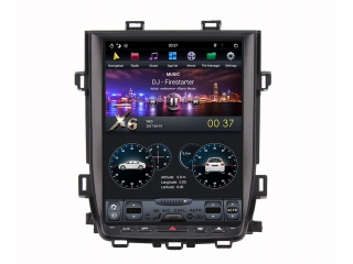 Головное устройство в стиле Тесла Carmedia ZF-1269L-DSP для Toyota Alphard 2010-2014 c DSP процессором на Android