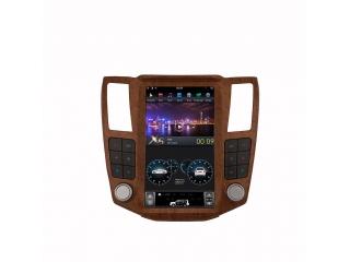 Головное устройство в стиле Тесла Carmedia ZF-1278W-DSP для Lexus RX 2004-2008 c DSP процессором на Android