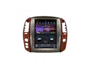 Головное устройство в стиле Тесла Carmedia ZF-1305 DSP для Lexus LX 470 c DSP процессором на Android