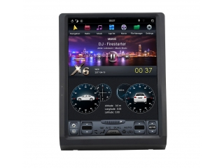 Головное устройство в стиле Тесла Carmedia ZF-1307-DSP для Toyota Toyota Land Cruiser 70 c DSP процессором на Android