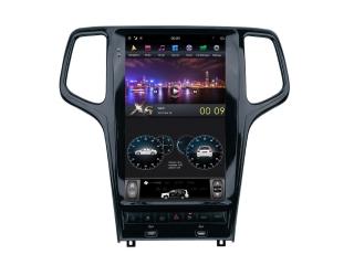 Головное устройство в стиле Тесла Carmedia ZF-1823B-DSP для Jeep Grand Cherokee (Поддержка всех функций авто) c DSP процессором на Android