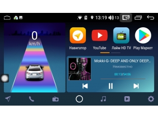 Штатная магнитола Daystar DS-7044Z для Toyota Camry V55 2014-2018 с DSP процессором, 4/64 GB, 4G LTE Sim, Android 8.1