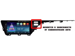 Штатная магнитола Daystar DS-7045Z для Toyota Camry V70 2018+ с DSP процессором, 4/64 GB, 4G LTE Sim, Android 8.1