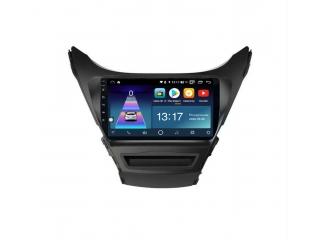 Штатная магнитола Daystar DS-7052Z для Hyundai Elantra 2011-2013 с DSP процессором, 4/64 GB, 4G LTE Sim, Android 10