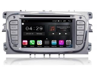 Штатная магнитола FarCar RG003 S300 для Ford Focus, Mondeo, S-Max, C-Max, Galaxy с DSP процессором и 4G модемом на Android 9