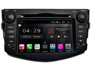 Штатная магнитола FarCar RG018 S300 для Toyota RAV4 2006-2012 с DSP процессором и 4G модемом на Android 9