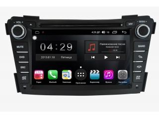 Штатная магнитола FarCar RG172 S300 для Hyundai i40 с DSP процессором и 4G модемом на Android 9