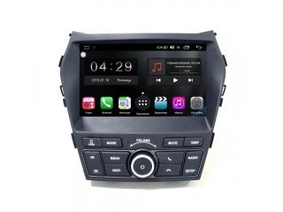Штатная магнитола FarCar RG209H для Hyundai Santa Fe 2012+ (для максимальных комплектаций) с DSP процессором и 4G модемом на Android 9