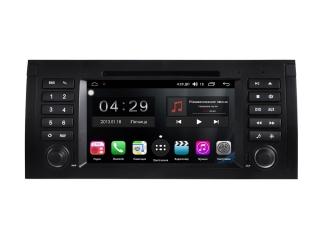Штатная магнитола FarCar RG395 для BMW X5 E53, 5er E39, 7er E38 с DSP процессором и 4G модемом на Android 9