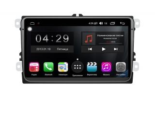 Штатная магнитола FarCar RG818 для Volkswagen, Skoda, Seat с DSP процессором и 4G модемом на Android 9