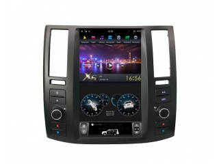 Головное устройство в стиле Тесла FarCar ZF007 для Infiniti FX35 2002-2008 с матрицей IPS HD на Android