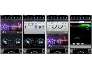 Головное устройство в стиле Тесла FarCar ZF037-2 для Mitsubishi Lancer X (для Rockford Fosgate) с матрицей IPS HD на Android