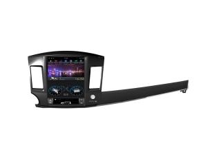 Головное устройство в стиле Тесла FarCar ZF037 для Mitsubishi Lancer X с матрицей IPS HD на Android