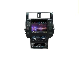 Головное устройство в стиле Тесла FarCar ZF065-2 для Toyota LC Prado 150 2009-2013 (с круговым обзором) с матрицей IPS HD на Android