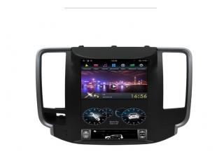 Головное устройство в стиле Тесла FarCar ZF1076 для Nissan Teana 2008-2013 с матрицей IPS HD на Android