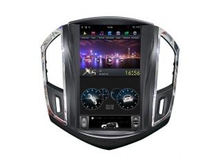 Головное устройство в стиле Тесла FarCar ZF261 для Chevrolet Cruze 2013-2015 с матрицей IPS HD на Android