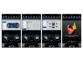 Головное устройство в стиле Тесла FarCar ZF300-2 для Lexus GS 2004-2011 с матрицей IPS HD на Android