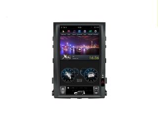 Головное устройство в стиле Тесла FarCar ZF381-1 для Toyota LC 200 2007-2015 (для простой комплектации) с матрицей IPS HD на Android