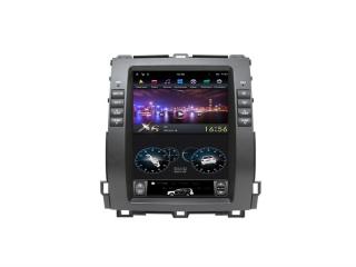 Головное устройство в стиле Тесла FarCar ZF456-1 для Toyota LC Prado 120 (для комплектации без монитора) с матрицей IPS HD на Android