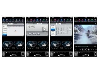 Головное устройство в стиле Тесла FarCar ZF469-2.0L для Honda CR-V 2013-2016 с матрицей IPS HD на Android