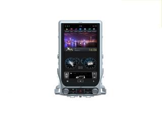 Головное устройство в стиле Тесла FarCar ZF567-2 13,6 дюйма для Toyota LC 200 2015+ (максимальная комплектация) с матрицей IPS HD на Android