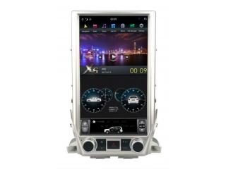 Головное устройство в стиле Тесла FarCar ZF567-2 (16 дюймов) для Toyota LC 200 2015+ (максимальная комплектация) с матрицей IPS HD на Android