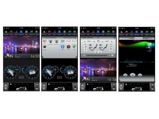 Головное устройство в стиле Тесла FarCar ZF570 для Lexus LX 570 2007-2015 с матрицей IPS HD на Android