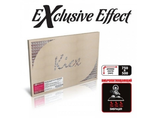 Шумоизоляция EXCLUZIVE EFFECT (0,5*0,75) (в комплекте 10 листов)