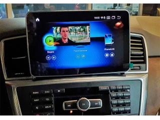 Штатная магнитола Parafar PF8315A10MLGL для Mercedes Benz ML 2012-2015 w166, GL 2013-2015 x166 NTG 4.5 экран 9 дюймов на Android 10