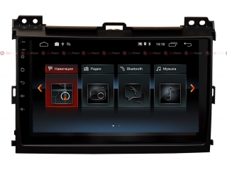 Штатная магнитола Redpower 30182 IPS для Toyota LC Prado 120 на Android 9